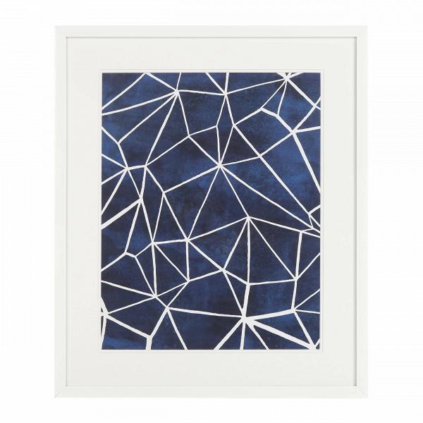 Постер GPWO1792487Картины<br><br><br>stock: 12<br>Ширина: 55,8<br>Цвет: Синий<br>Длина: 65,8<br>Цвет дополнительный: Белый