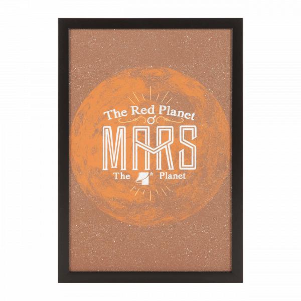 Постер MarsКартины<br><br><br>stock: 12<br>Ширина: 33<br>Цвет: Коричневый<br>Длина: 48