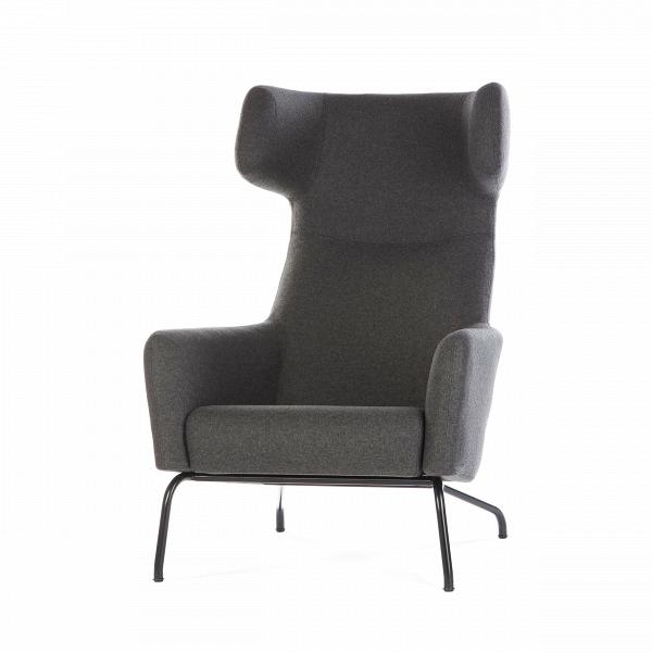 Кресло HavanaИнтерьерные<br>Дизайнерское интерьерное мягкое кресло Havana (Гавана) с откинутой спинкой с обивкой шерсти, полиамида от Softline (Софтлайн).<br><br><br> Новое знаковое кресло Havana от знаменитого дуэта Буск и Херцог — это новый подход к классическим формам кресла для отдыха. Это культовое кресло для релаксации создано для того, чтобы давать уют и комфорт пользователю. Привычные классические формы приобретают динамику и движение, при этом не искажая целостный диза...<br><br>stock: 1<br>Высота: 107<br>Высота сиденья: 40<br>Ширина: 79<br>Глубина: 96<br>Цвет ножек: Черный<br>Материал обивки: Шерсть, Полиамид<br>Коллекция ткани: Felt<br>Тип материала обивки: Ткань<br>Тип материала ножек: Сталь<br>Цвет обивки: Темно-серый<br>Дизайнер: Busk + Hertzog