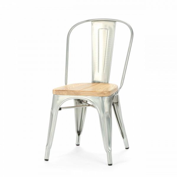 Стул Marais WoodИнтерьерные<br>Дизайнерский креативный жесткий стул Marais Wood (Мэрейс Вуд) на стальном каркасе с сиденьем из дерева от Cosmo (Космо).<br><br>     В современном мире не существует единого правила для создания интерьера, это вопрос личных предпочтений. Кто-то любит наличие картин в золоченых резных рамах, кто-то увлекается яркими восточными коврами и рогожками, а кому-то ближе холодный приглушенный блеск металла и промышленный дизайн в оформлении жилища.<br><br><br> Стул Marais WoodВ — это именно индустриальный ...<br><br>stock: 0<br>Высота: 85<br>Высота сиденья: 45<br>Ширина: 46<br>Глубина: 51<br>Тип материала каркаса: Сталь<br>Материал сидения: Массив ивы<br>Цвет сидения: Светло-коричневый<br>Тип материала сидения: Дерево<br>Цвет каркаса: Гальванизированный<br>Дизайнер: Xavier Pauchard