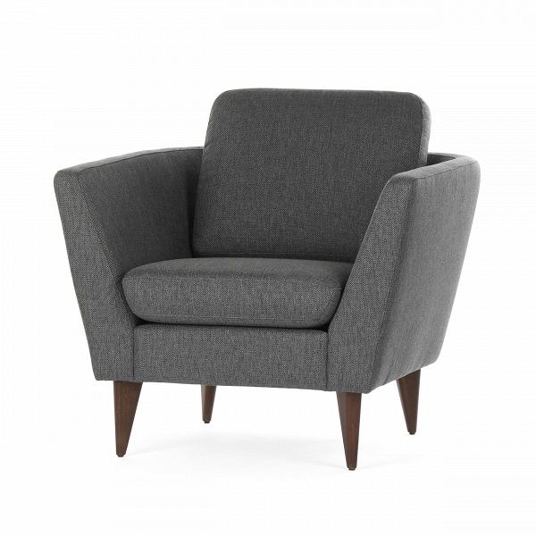 Кресло MyntaИнтерьерные<br>Дизайнерское глубокое удобное кресло Mynta (Минта) на деревянных ножках от Sits (Ситс).<br><br><br> Кресло Mynta имеет любимую многими дизайнерами строгую классическую форму и в то же время обладает едва уловимыми шведскими чертами, что характерно для большинства творений дизайнеров мебельной компании Sits. Кресло Mynta имеет глубокое сиденье и высокие сплошные подлокотники, что придает сидящему ощущение защищенности и физического комфорта. А высокие ножки кресла визуально увеличивают пространств...<br><br>stock: 0<br>Высота: 82<br>Высота сиденья: 42<br>Ширина: 86<br>Глубина: 87<br>Цвет ножек: Орех<br>Материал ножек: Дерево<br>Материал обивки: Акрил, Полиэстер, Хлопок<br>Степень комфортности: Стандарт комфорт<br>Форма подлокотников: Стандарт<br>Цвет обивки: Темно-серый