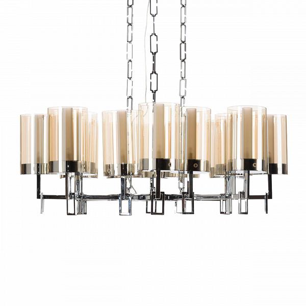 Подвесной светильник EmilieПодвесные<br>Если взять старинный подвесной канделябр для свечей X, сложить его с дизайнерским видениемВи помножить на XIX ввек,Вто получится простое уравнение, равное подвесному светильнику Emelie.<br> <br> Дизайнеры, трудившиеся над созданием светильника, вдохновлялись традициями изготовления винтажных подвесных светильников, однако добавили в дизайн готового продукта неоспоримогоВлоску с помощью отобранных материаловВи хромированного покрытия. <br> <br> При взгляде на светильник так и кажет...<br><br>stock: 0<br>Высота: 67<br>Диаметр: 100<br>Количество ламп: 16<br>Материал абажура: Стекло<br>Материал арматуры: Металл<br>Мощность лампы: 40<br>Ламп в комплекте: Нет<br>Тип лампы/цоколь: G9<br>Цвет абажура: Хром