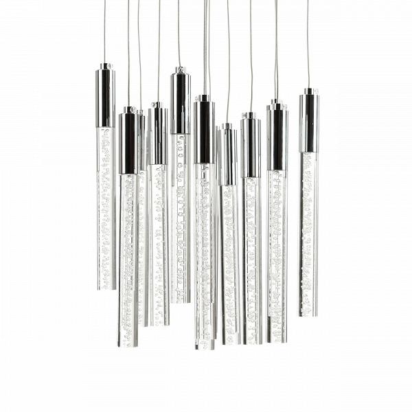 Подвесной светильник Champagne Wands 12 лампПодвесные<br>Создатель этого светильника — Роберт Соннеман, знаменитый дизайнер, работы которого завоевали всемирное признание иВсчитаются современной классикой. Они демонстрируются в Музее современного искусства в Нью-Йорке и Хьюстоне, вВНациональном музее дизайна Купер-Хьюитт и других. Не случайно Соннемана называют Lighting Modern Master, «мастер светового модерна».<br><br><br> Подвесной светильник Champagne Wands 12 ламп сделан из прочного металла, а высоту подвесов можно регулировать, что поз...<br><br>stock: 0<br>Высота: 150<br>Диаметр: 28<br>Доп. цвет абажура: Хром<br>Материал абажура: Акрил<br>Материал арматуры: Металл<br>Мощность лампы: 26<br>Ламп в комплекте: Нет<br>Тип лампы/цоколь: LED<br>Цвет абажура: Прозрачный<br>Дизайнер: Robert Sonneman