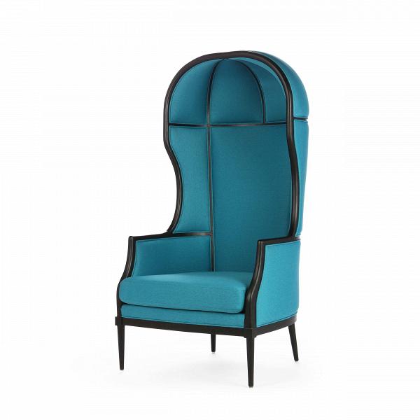 Кресло Laval Crown SingleИнтерьерные<br>Коллекция LAVAL отВStellar Works дает иное толкование традиционных французских стилей сВпоэтической простотой японской иВскандинавской эстетики.<br><br><br> Коллекция LAVAL отражает чувство совершенства иВизящного качества, объединенного сВсамым высоким вниманием кВдеталям.<br><br>stock: 0<br>Высота: 146,4<br>Ширина: 74<br>Глубина: 79,5<br>Материал каркаса: Массив ясеня<br>Тип материала каркаса: Дерево<br>Тип материала обивки: Ткань<br>Цвет обивки: Голубой<br>Цвет каркаса: Черный