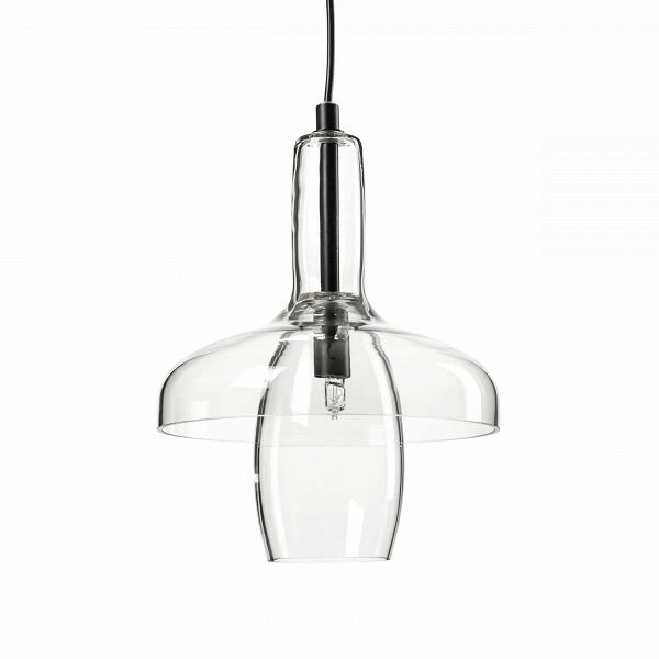 Подвесной светильник Fata-morganaПодвесные<br><br><br>stock: 0<br>Высота: 150<br>Диаметр: 20<br>Количество ламп: 1<br>Материал абажура: Стекло<br>Мощность лампы: 2<br>Ламп в комплекте: Нет<br>Тип лампы/цоколь: G9<br>Цвет абажура: Прозрачный