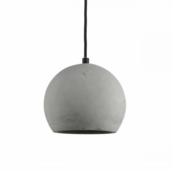 Подвесной светильник Nordic SphereПодвесные<br>Подвесной светильник Nordic Sphere — на первый взгляд, простая и весьма брутальная лампа, ноВна деле — самое последнее веяние в индустрии дизайна. Сегодня все дизайнеры пришли к тому, что современный интерьер должен быть ярким и индивидуальным, избавленным от любых границ и табу. Бетонный плафон лампы выглядит непривычно и одновременно заманчиво, ужВбольно велик соблазн обыграть этот предмет в интерьере, интегрировать в домашнее пространство и сделать заметной, «увесистой» деталь...<br><br>stock: 0<br>Диаметр: 20<br>Количество ламп: 1<br>Материал абажура: Бетон<br>Материал арматуры: Сталь<br>Мощность лампы: 40<br>Ламп в комплекте: Нет<br>Напряжение: 220<br>Тип лампы/цоколь: E14<br>Цвет абажура: Натуральный<br>Цвет арматуры: Черный