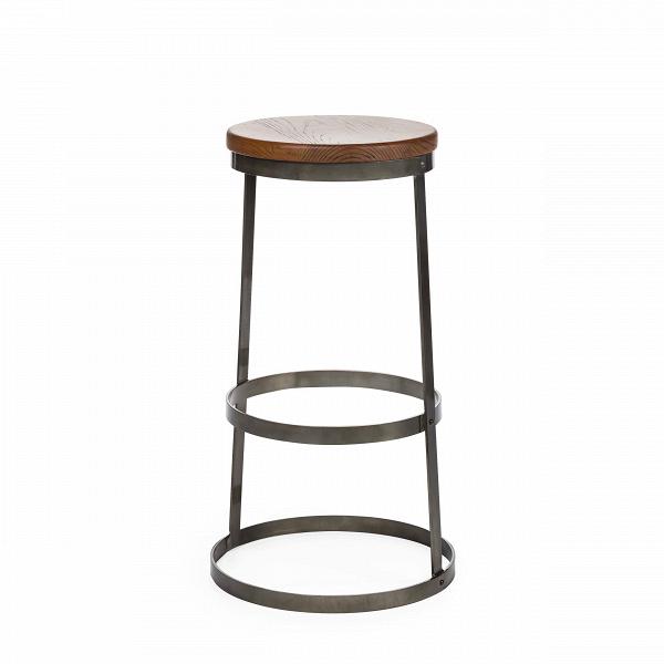 Барный стул ReverbБарные<br>Идеальный круг и ничего больше. Это единственно применимая форма при изготовлении барного стула Reverb. Потрясающая и невероятная простота в сочетании с лаконичной элегантностью. Минимализм, конструктивный экостиль. Практичность без лишних слов.<br><br><br> Барный стул Reverb — это всего несколько линий и окружностей. Три стальных обода соединены между собой двумя вертикальными опорами. Исходный материал каркаса — нержавеющая сталь цвета темной пушечной бронзы. Круглое сиденье выполнено из нату...<br><br>stock: 0<br>Высота: 76<br>Диаметр: 48.5<br>Тип материала каркаса: Сталь<br>Материал сидения: Массив ивы<br>Цвет сидения: Темно-коричневый<br>Тип материала сидения: Дерево<br>Цвет каркаса: Бронза пушечная