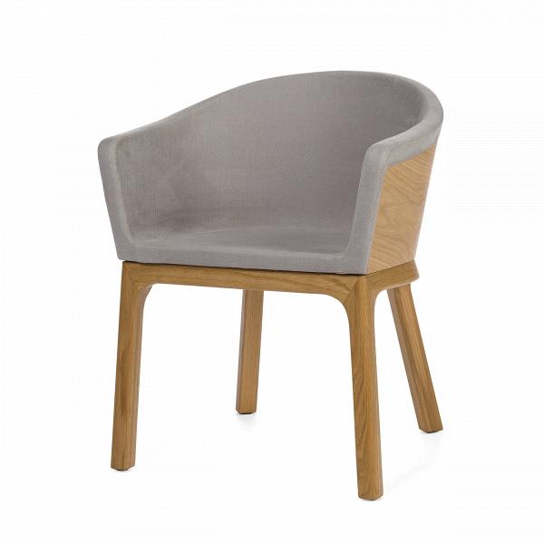 Кресло PalettaИнтерьерные<br>Дизайнерское легкое кресло Paletta (Палетта) на длинных деревянных ножках с закругленной спинкой от Cosmo (Космо).<br><br><br> Мастер функционального дизайна Шон Дикс делает универсальную мебель, которую можно поставить в любом пространстве, будь то небольшая уютная гостиная, шикарное лобби отеля или строгая приемная в офисе. Вот и свое кресло Paletta («кресло-ложечку», именно так с итальянского переводится название) он придумал в качестве идеального предмета мебели дляВлюбого интерьера.<br><br>...<br><br>stock: 0<br>Высота: 74,5<br>Высота сиденья: 45<br>Ширина: 62<br>Глубина: 57,5<br>Цвет ножек: Дуб<br>Материал каркаса: Фанера, шпон дуба<br>Материал ножек: Массив дуба<br>Материал обивки: Хлопок, Лен<br>Тип материала каркаса: Фанера<br>Коллекция ткани: Ray Fabric<br>Тип материала обивки: Ткань<br>Тип материала ножек: Дерево<br>Цвет обивки: Светло-серый<br>Цвет каркаса: Дуб<br>Дизайнер: Sean Dix