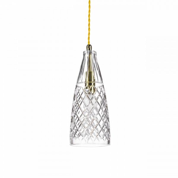 Подвесной светильник Crystal GobletПодвесные<br>«А что, позвольте поинтересоваться, ваза забыла у вас на потолке? И почему ко всему прочему она светит?»<br> <br> А потому, что дизайнерыВподвесного светильника Crystal GobletВ — большие виртуозы в своем деле. Материал, цвет, объемный узор — все это прямая отсылка к хрустальным вазам, которые по-прежнему хранятся у многих из нас. Но глядя на них никто не ожидал, что из них вышел бы отличный дизайнерский светильник! Свет, проходящий сквозь стенки изделия, изящно преломляется в гранях рис...<br><br>stock: 0<br>Высота: 180<br>Диаметр: 10,5<br>Количество ламп: 1<br>Материал абажура: Стекло<br>Мощность лампы: 40<br>Ламп в комплекте: Нет<br>Напряжение: 220<br>Тип лампы/цоколь: E14<br>Цвет абажура: Прозрачный