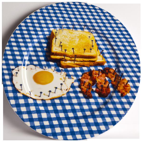 Тарелка BreakfastПосуда<br>Тарелка Breakfast из коллекции Toiletpaper от компании Seletti — это как раз то, что и следовало ожидать от этой дизайн-студии. Знаменитые на весь мир Seletti не раз прогремели своими коллекциями посуды и мебели провокационного содержания. Но за это их все и любят. <br> <br> Кухонная утварьВToiletpaper названа в честь одноименного журнала, основанного в 2010 году художником Маурицио Кателланом и фотографом Пьерпауло<br> Феррари. За время существования издания огромное количество изображений<br> ...<br><br>stock: 0<br>Материал: Фарфор<br>Цвет: Разноцветный/Colorful<br>Диаметр: 27