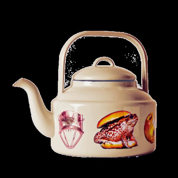 Чайник ToadПосуда<br>Чайник Toad из коллекции Toiletpaper от компании Seletti — это как раз то, что и следовало ожидать от этой дизайн-студии. Знаменитые на весь мир Seletti не раз прогремели своими коллекциями посуды и мебели провокационного содержания. Но за это их все и любят. <br> <br> Кухонная утварьВToiletpaper названа в честь одноименного журнала, основанного в 2010 году художником Маурицио Кателланом и фотографом Пьерпауло Феррари. За время существования издания огромное количество изображений из журнала...<br><br>stock: 0<br>Высота: 20,5<br>Материал: Сталь эмалированная<br>Цвет: Желтый<br>Диаметр: 18