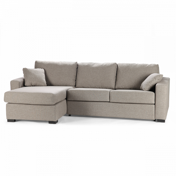 Диван Lukas правостороннийРаскладные<br>Дизайнерский светло-серый угловой глубокий диван Lukas (Лукас) на низких ножках от Sits (Ситс).<br> Уютная и комфортная мягкая мебель в домашней гостиной комнате — это залог приятной, теплой атмосферы и хорошего отдыха всех домочадцев. Диван Lukas правосторонний, разработанный знаменитыми дизайнерами компании Sits, способен подарить вам все это и к тому же легко украсит собой интерьер любого помещения. Его универсальные формы и легкий, приятный взгляду цвет легко вольются практически в любой д...<br><br>stock: 0<br>Высота: 88<br>Высота сиденья: 48<br>Глубина: 100/152<br>Длина: 279<br>Цвет ножек: Черный<br>Механизмы: Раскладной<br>Коллекция ткани: Категория ткани I<br>Тип материала обивки: Ткань<br>Тип материала ножек: Дерево<br>Цвет обивки: Светло-серый