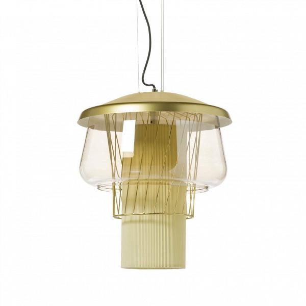 Подвесной светильник Silk Road 1 диаметр 46Подвесные<br>Подвесной светильник Silk Road 1 диаметр 46 — это уникальное дизайнерское изделие. Яркую лампу накаливания обрамляют различные по текстуре и материалам абажуры. Все это составляет неповторимый дизайн светильников из коллекции Silk Road. Она состоит из подвесных и потолочных светильников, которые станут ярким акцентом любого современного интерьера.<br><br> Данная модель светильника представлена в двух размерах, что поможет использовать изделие в различных по параметрам помещениях. Его универсальн...<br><br>stock: 9<br>Высота: 180<br>Диаметр: 46<br>Количество ламп: 1<br>Материал абажура: Стекло<br>Материал арматуры: Металл<br>Мощность лампы: 13<br>Ламп в комплекте: Нет<br>Напряжение: 220<br>Тип лампы/цоколь: E27<br>Цвет абажура: Коричневый<br>Цвет арматуры: Бронза