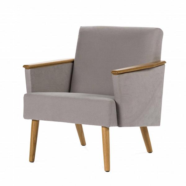 Кресло HarryИнтерьерные<br>Дизайнерское классическое легкое кресло Harry (Гарри) на длинных ножках от Cosmo (Космо).<br><br><br> Кто знает, может быть,оригинальное кресло Harry получило свое имя в честь принца Гарри, ведь первое, что приходит на ум, когда видишь его, — королевский комфорт и ощущение благородной расслабленности. Спинка под правильным углом, устойчивые солидные ножки, подлокотники из прочного дуба или ореха, мягкая обивка из ткани нейтральных, «природных» оттенков. ВВтаком кресле легко можно расслабить...<br><br>stock: 0<br>Высота: 77,5<br>Ширина: 71<br>Глубина: 82,5<br>Цвет ножек: Дуб<br>Материал ножек: Массив дуба<br>Материал обивки: Хлопок, Лен<br>Коллекция ткани: Ray Fabric<br>Тип материала обивки: Ткань<br>Тип материала ножек: Дерево<br>Цвет обивки: Светло-серый