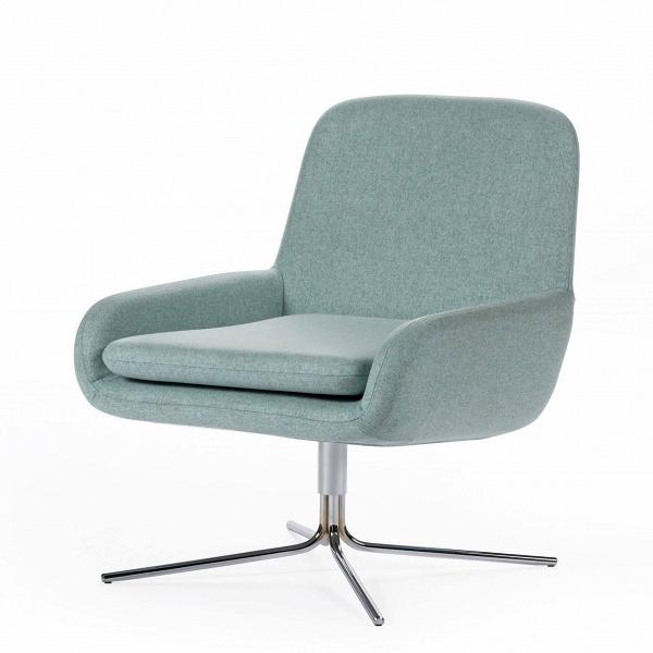Кресло Coco SwivelИнтерьерные<br>Дизайнерское небольшое современное вращающееся кресло Coco Swivel (Коко Свивэл) из ткани на одной ножке от Softline (Софтлайн).<br><br>КреслоВCoco Swivel — красивое и смелое кресло с минималистским, но очень динамичным дизайном. Это результат сотрудничества между Флеммингом Буском и Стефаном Б.Херцогом, датским коллективом дизайнеров, известными своими наградами вВобласти дизайна мебели.<br><br><br><br> <br><br><br> Оригинальное креслоВCoco Swivel от компании Softline — это выбор для активных ...<br><br>stock: 0<br>Высота: 76<br>Высота сиденья: 40<br>Ширина: 65<br>Глубина: 73<br>Цвет ножек: Хром<br>Материал обивки: Шерсть, Полиамид<br>Коллекция ткани: Felt<br>Тип материала обивки: Ткань<br>Тип материала ножек: Металл<br>Цвет обивки: Аква<br>Дизайнер: Busk + Hertzog