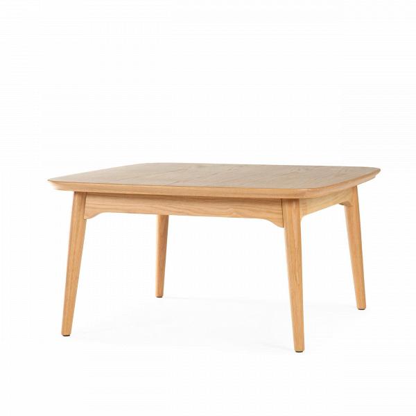Кофейный стол Dad квадратный малый высота 40Кофейные столики<br>Дизайнерский квадратный низкий кофейный стол Dad (Дэд) с высотой 40 см из дерева от Cosmo (Космо).<br><br><br><br> Прекрасный кофейный стол Dad квадратный малый высота 40 — это отличный вариант для интерьера любого стиля. Этот компактный лаконичный столик подойдет любому помещению, даже совсем небольшим по площади комнатам, при этом оставаясь функциональным и полезным элементом мебели.<br> <br> Как и любой продукт Шона Дикса, дизайнера, подарившего нам столь привлекательный стол, кофейный стол Dad квад...<br><br>stock: 0<br>Высота: 40<br>Ширина: 75<br>Длина: 75<br>Цвет ножек: Светло-коричневый<br>Цвет столешницы: Светло-коричневый<br>Материал ножек: Массив дуба<br>Материал столешницы: Фанера, шпон дуба<br>Тип материала столешницы: Фанера<br>Тип материала ножек: Дерево<br>Дизайнер: Sean Dix