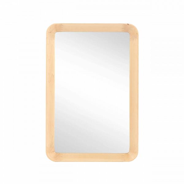 Настенное зеркало Velodrome прямоугольноеНастенные<br>«Я буду долго гнать велосипед» — всплывает в голове строчка из популярного шлягера при взгляде на это геометричное зеркало с запоминающимся названием. Похожими ассоциациями руководствовался и его создатель, дизайнер из Канзаса Шон Дикс, который славится своими лаконичными творениями без лишних деталей.<br><br><br> Однажды он рассматривал фактурные следы от шин на велодроме и решил воссоздать поверхность и текстуру в контрасте гладкого стекла и чуть неровной и шероховатой натуральной рамы из де...<br><br>stock: 0<br>Высота: 60<br>Ширина: 40<br>Материал: Клен Американский<br>Длина: 5