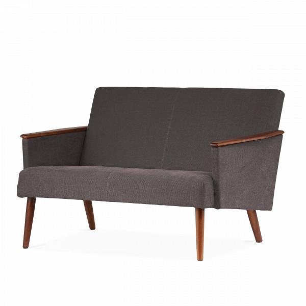 Диван Harry двухместныйДвухместные<br>Дизайнерский двухместный диван Harry (Гарри) с дубовым каркасом и длинными деревянными ножками от Cosmo (Космо)<br><br><br> Выбор дивана по-настоящему определяет будущую атмосферу и стиль помещения. Важно учесть множество факторов: размер, материал обивки и каркаса, дизайн интерьера, в который он въедет, его назначение. Будет диван стоять в деловом офисе или уютной гостиной? Все это необходимо иметь в виду при выборе такого важного предмета мебели.<br><br><br> Оригинальный диван Harry двухместный пора...<br><br>stock: 0<br>Высота: 77,5<br>Глубина: 79,5<br>Длина: 128<br>Материал каркаса: Массив ореха<br>Материал обивки: Хлопок<br>Тип материала каркаса: Дерево<br>Коллекция ткани: Charles Fabric<br>Тип материала обивки: Ткань<br>Цвет обивки: Темно-серый<br>Цвет каркаса: Орех