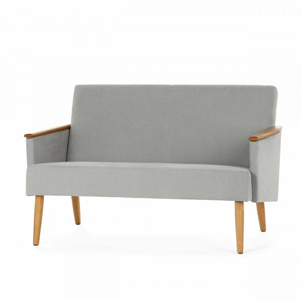 Диван Harry двухместныйДвухместные<br>Дизайнерский двухместный диван Harry (Гарри) с дубовым каркасом и длинными деревянными ножками от Cosmo (Космо)<br><br><br> Выбор дивана по-настоящему определяет будущую атмосферу и стиль помещения. Важно учесть множество факторов: размер, материал обивки и каркаса, дизайн интерьера, в который он въедет, его назначение. Будет диван стоять в деловом офисе или уютной гостиной? Все это необходимо иметь в виду при выборе такого важного предмета мебели.<br><br><br> Оригинальный диван Harry двухместный пора...<br><br>stock: 2<br>Высота: 77,5<br>Глубина: 79,5<br>Длина: 128<br>Материал каркаса: Массив дуба<br>Материал обивки: Хлопок, Лен<br>Тип материала каркаса: Дерево<br>Коллекция ткани: Ray Fabric<br>Тип материала обивки: Ткань<br>Цвет обивки: Светло-серый<br>Цвет каркаса: Дуб