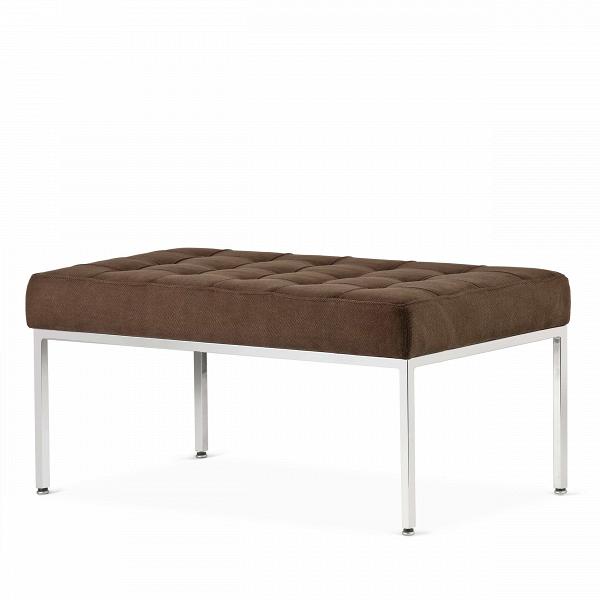 Скамья Florence кожаная ширина 93Скамьи и лавочки<br>Универсальная коллекция Florence включает вВсебя кресло для отдыха, диван, двухместную иВтрехместную скамьи.<br><br><br> Как иВмногие инновационные проекты, ставшие позже золотым стандартом мебельной промышленности, скамья Florence кожаная ширина 93 характеризуется объективным перфекционизмом современного дизайна иВархитектуры середины XX столетия.<br><br><br> Скамья Florence кожаная ширина 93 состоит изВотличных, индивидуально сшитых квадратов обивки, приложенной кВхро...<br><br>stock: 0<br>Высота: 43<br>Ширина: 93<br>Глубина: 50,5<br>Цвет ножек: Хром<br>Материал сидения: Хлопок<br>Цвет сидения: Темно-коричневый<br>Тип материала сидения: Ткань<br>Тип материала ножек: Сталь нержавеющая<br>Дизайнер: Florence Knoll