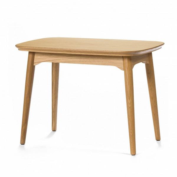 Кофейный стол Dad прямоугольный высота 50Кофейные столики<br>Дизайнерский деревянный коричневый кофейный стол Dad (Дэд) с высотой 50 см и с прямоугольной столешницей от Cosmo (Космо).<br><br><br> В создании дизайна интерьера важно не забывать о предметах мебели, которые играют значительную роль в будущей атмосфере помещения. К такой мебели относятся кофейные столики, которые помогают нам в создании комфортной и практичной обстановки.<br><br><br> Кофейный стол Dad прямоугольный высота 50 американского дизайнера Шона Дикса выполнен в классической, смягченной по уг...<br><br>stock: 1<br>Высота: 50<br>Ширина: 45<br>Длина: 70<br>Цвет ножек: Светло-коричневый<br>Цвет столешницы: Светло-коричневый<br>Материал ножек: Массив дуба<br>Материал столешницы: Фанера, шпон дуба<br>Тип материала столешницы: Дерево<br>Тип материала ножек: Дерево<br>Дизайнер: Sean Dix