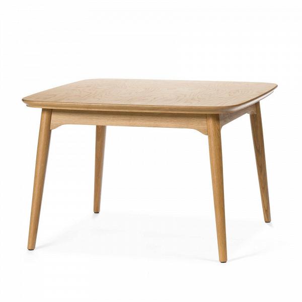 Кофейный стол Dad квадратный малый высота 50Кофейные столики<br>Дизайнерский квадратный деревянный кофейный стол Dad (Дэд) с высотой 50 см обычной формы от Cosmo (Космо).<br><br><br> Представленный здесь строгий и элегантный кофейный стол Dad квадратный малый высота 50, созданный американским дизайнером и архитектором с мировым именем Шоном Диксом, сочетает в себе оттенок традиционной классики и современную простоту. Имеется в двух вариантах: из белого дуба и американского ореха. Эти материалы по праву считаются одними из лучших в производстве мебели, благод...<br><br>stock: 2<br>Высота: 50<br>Ширина: 75<br>Длина: 75<br>Цвет ножек: Светло-коричневый<br>Цвет столешницы: Светло-коричневый<br>Материал ножек: Массив дуба<br>Материал столешницы: Фанера, шпон дуба<br>Тип материала столешницы: Фанера<br>Тип материала ножек: Дерево<br>Дизайнер: Sean Dix