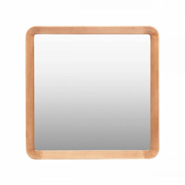 Настенное зеркало Velodrome квадратноеНастенные<br>Дизайнер Шон Дикс знает толк в современном минималистичном интерьере. За годы своего становления как дизайнера Дикс разработал свой фирменный стиль, состоящий из мотивов нескольких стилей в интерьере — эко и хай-тек. Если взглянуть хотя бы на несколько его работ, то впредь распознать авторский почерк будет несложно. Экоматериалы, сглаженные линии, натуральная текстура дерева — это постоянные атрибуты мебели и декора от Дикса. Мебель Шона Дикса минималистична иВинтеллектуальна, прекрасно ...<br><br>stock: 0<br>Высота: 60<br>Ширина: 60<br>Материал: Клен Американский<br>Дизайнер: Sean Dix