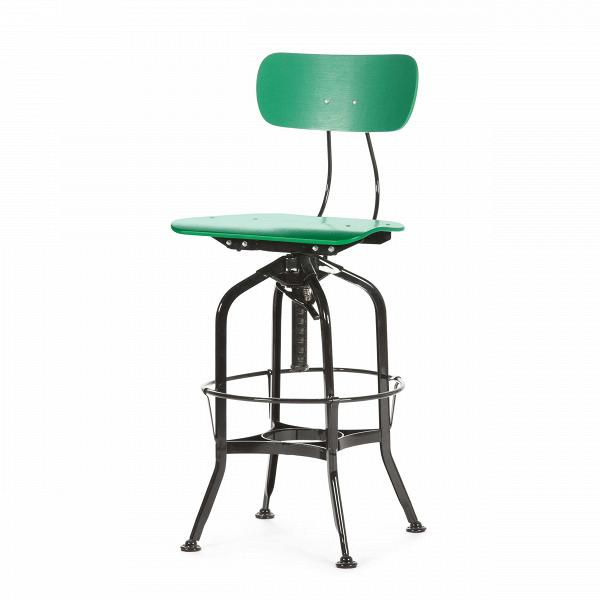 Барный стул Toledo WoodБарные<br>Дизайнерский цветной барный стул Toledo Wood (Толедо Вуд) из фанеры на черных ножках от Cosmo (Космо). <br><br> Целевыми помещениями для использования стульев ToledoВизначально были офисы, заводы, аптеки и тому подобные места. Однако под влиянием веяний модных дизайнерских тенденций появилась новая модель — для ресторанов, молодежных клубов и баров.<br><br><br> Замысловатый каркас из стали, выполненный в черном или металлическом цвете, представлен системой «паучьи лапки», как назвали это сами ди...<br><br>stock: 1<br>Высота: 97<br>Высота сиденья: 64-75<br>Ширина: 42<br>Глубина: 48<br>Тип материала каркаса: Сталь<br>Материал сидения: Фанера, шпон дуба<br>Цвет сидения: Зеленый<br>Тип материала сидения: Дерево<br>Цвет каркаса: Черный