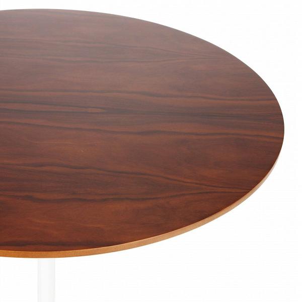 Кофейный стол Tulip с деревянной столешницей высота 52 от Cosmorelax