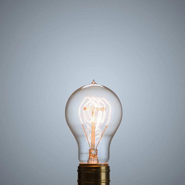 Винтажная лампа Эдисон Quad Loop (А19) 24 нити от Cosmorelax