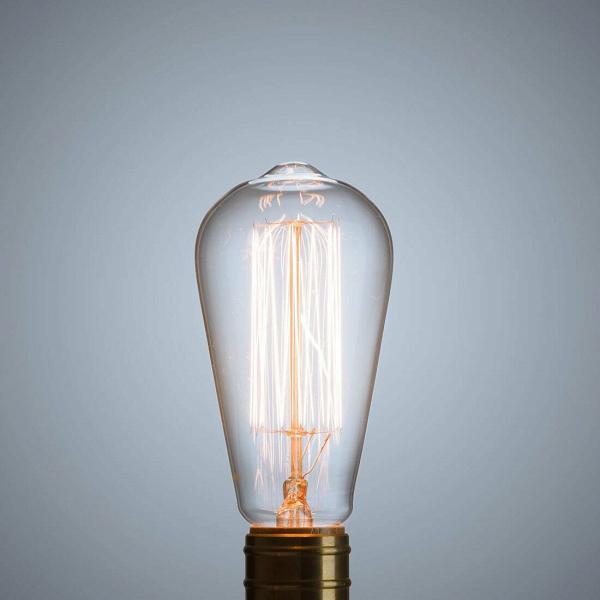 Винтажная лампа Эдисон Steeple Squirrel Cage (ST64) 19 нитей от Cosmorelax