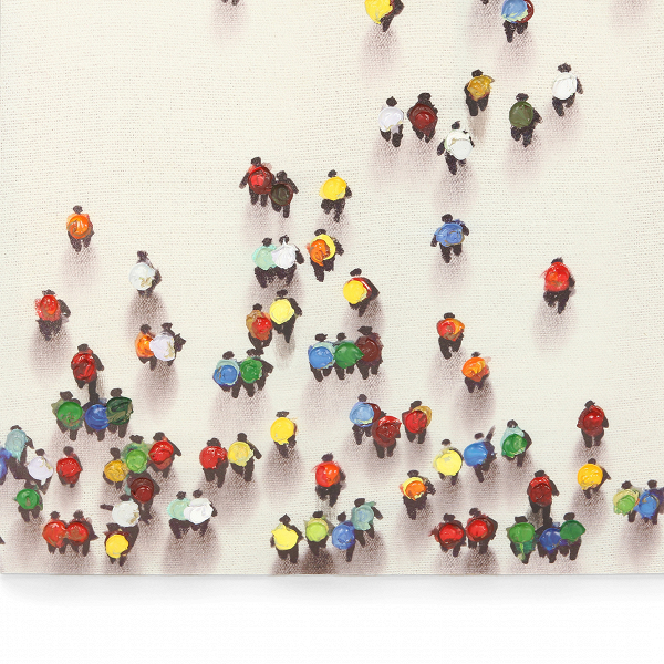 Картина Crowd от Cosmorelax