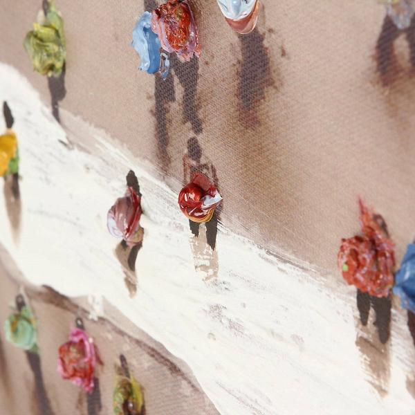 Картина Crowded Square от Cosmorelax