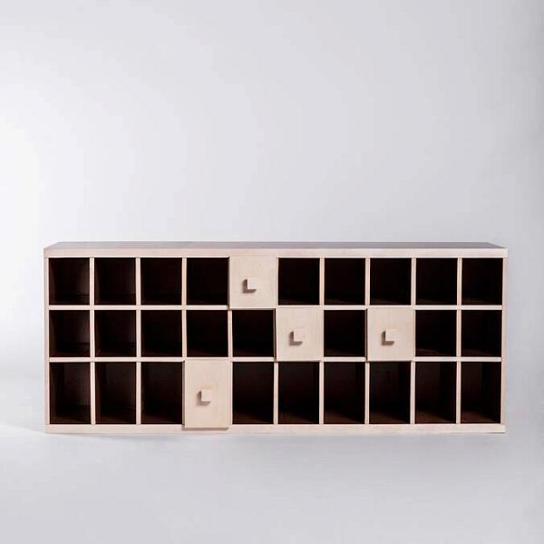 Обувница-скамейка с ящиками Presto 2 от Cosmorelax