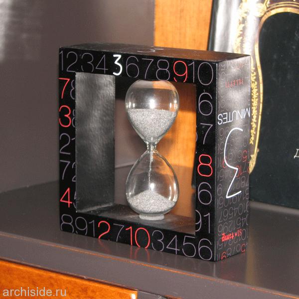 Песочные часы Seletti на 3 минуты от Cosmorelax