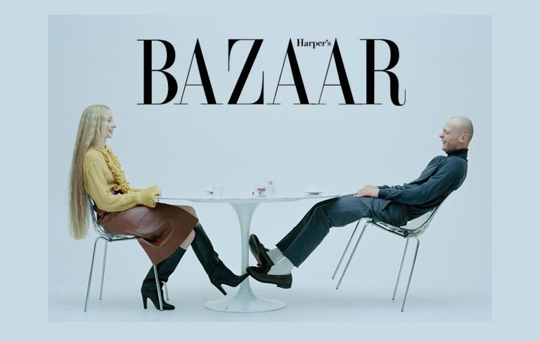 Мебель Cosmorelax в статье HARPER'S BAZAAR