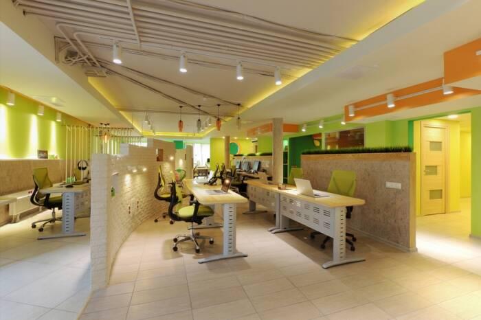 Дизайн-проект офиса в эко-стиле при участии Cosmorelax