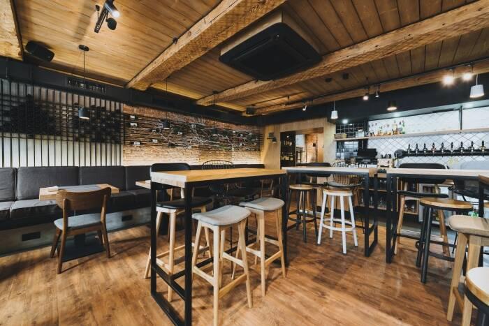 Проект ресторана «Too Much» при участии Cosmorelax