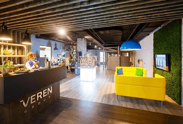 Проект офиса «VEREN GROUP» при участии Cosmorelax