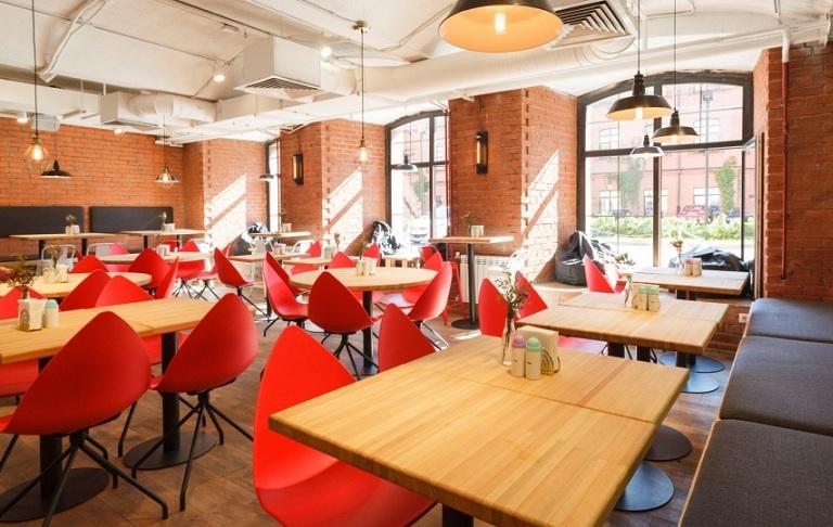 Проект кафе «Каррифан» при участии Cosmorelax