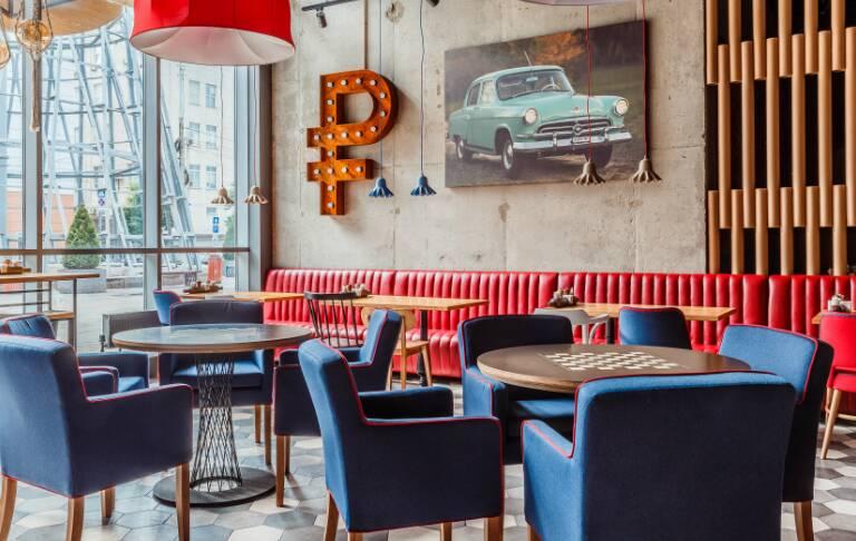 Кафе в духе советского прошлого в Краснодаре от Надежды Михайленко