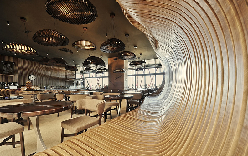 Самые необычные рестораны в стиле эко!