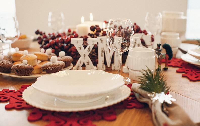 Идеи новогодней сервировки от дизайнера Cosmorelax Марии Вязовской