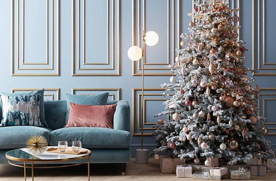 Новогодние тренды 2021-22: украшаем дом к празднику