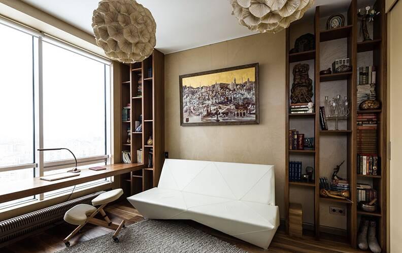 Cosmorelax & студия ПланАР: современная квартира 135м² в Москве