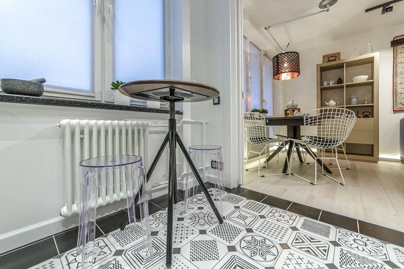 Cosmorelax & Никита Зуб: интерьер кухни-гостиной