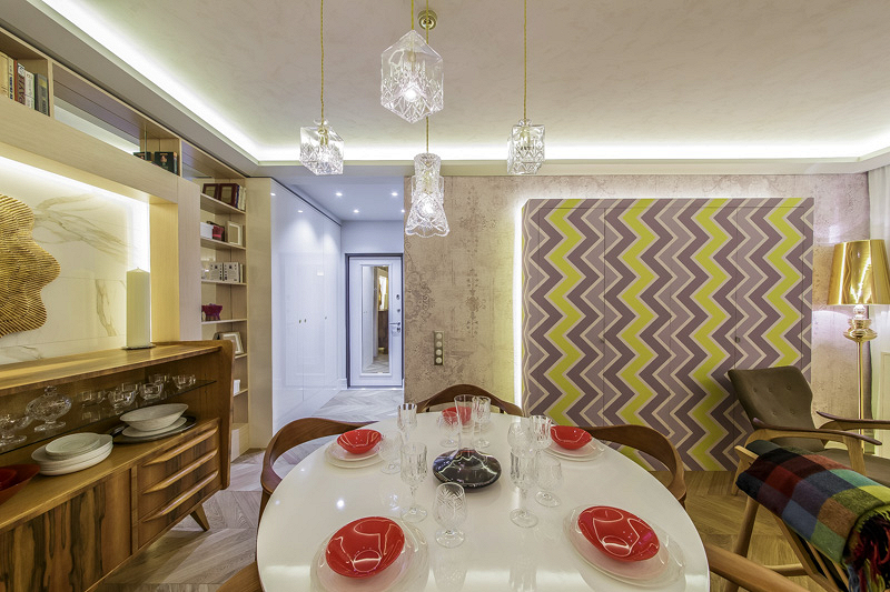Cosmorelax & бюро «Лед»: гостиная без дивана