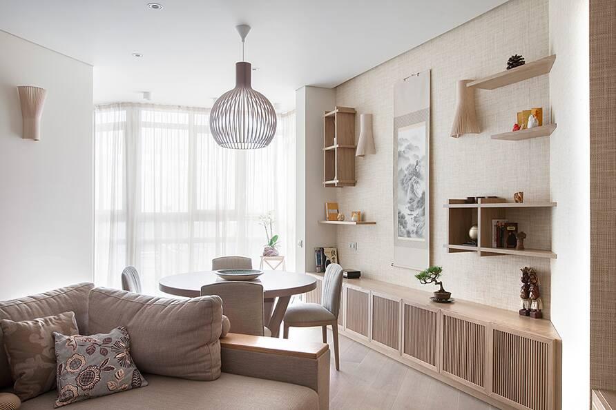 Квартира в стиле эко-минимализм в Москве