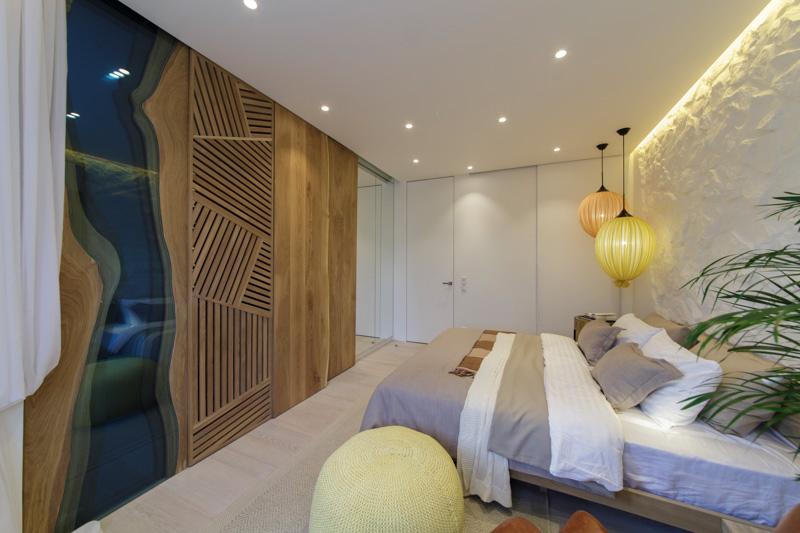 «Дачный ответ»: проект «Спальня у водопада» при участии Cosmorelax