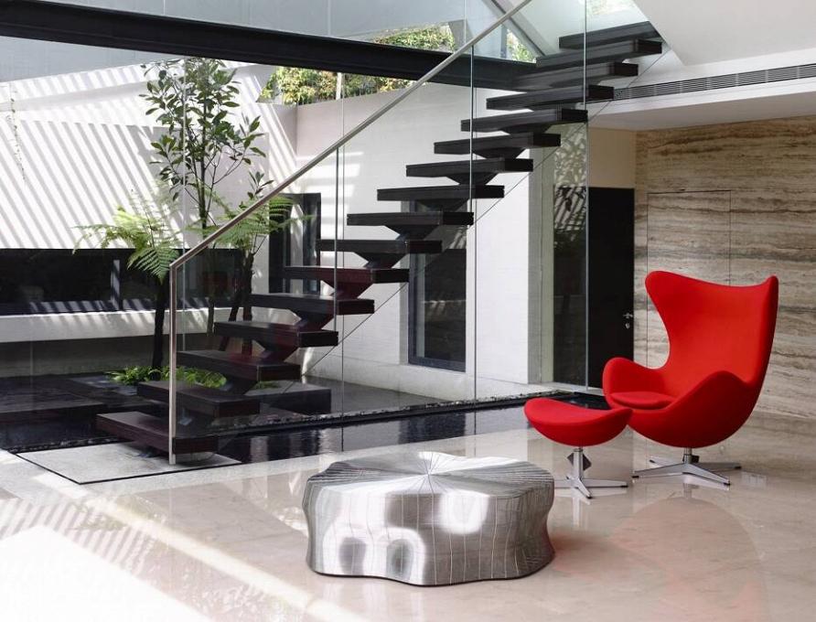 Дизайн дома в Сингапуре